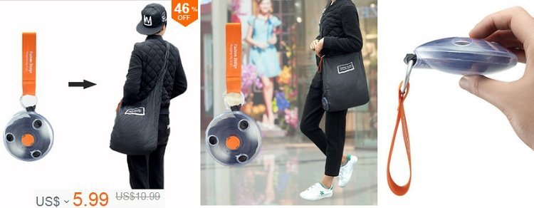Honana HN-B16 Portable Shopping Storage Bag Fodable